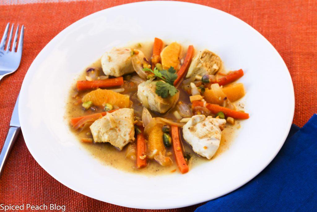 Iranian Orange Chicken Koresh