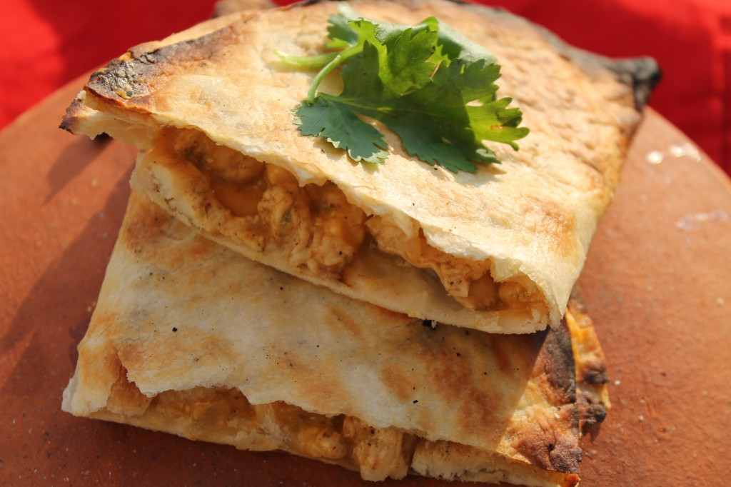 Grilled Chicken Quesadillas At The Team Family Tailgate