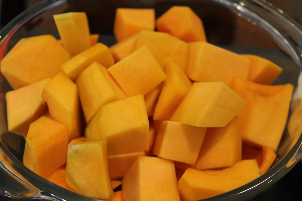 how to cut yellow squash for roasting