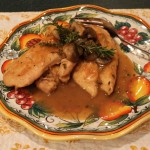 Chicken Marsala with Rosemary and Thyme