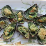 Mussels in Pernod Butter