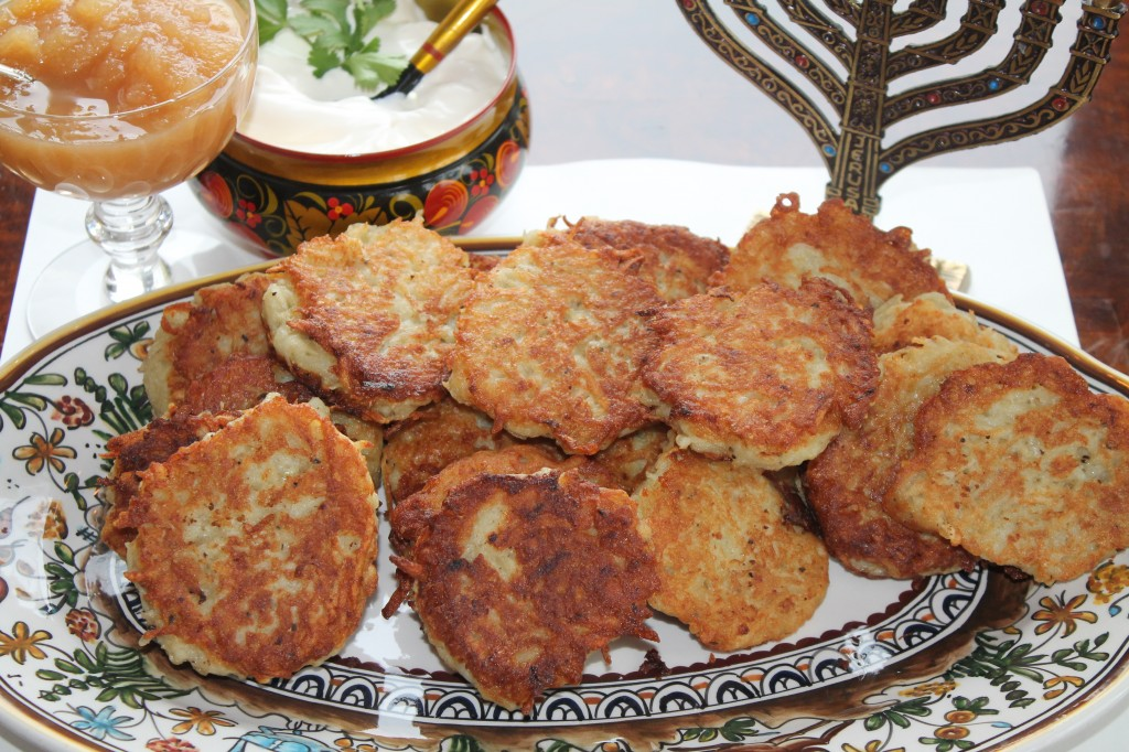 Potato Latkes for Hannukah