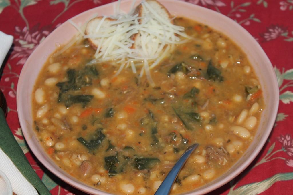 Lucky White Bean Soup