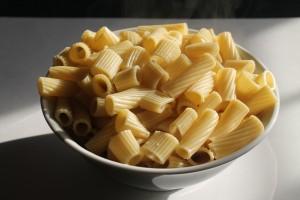 cooked rigatoni
