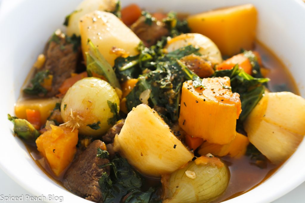Ten Vegetables in the Beef and Veal Stew