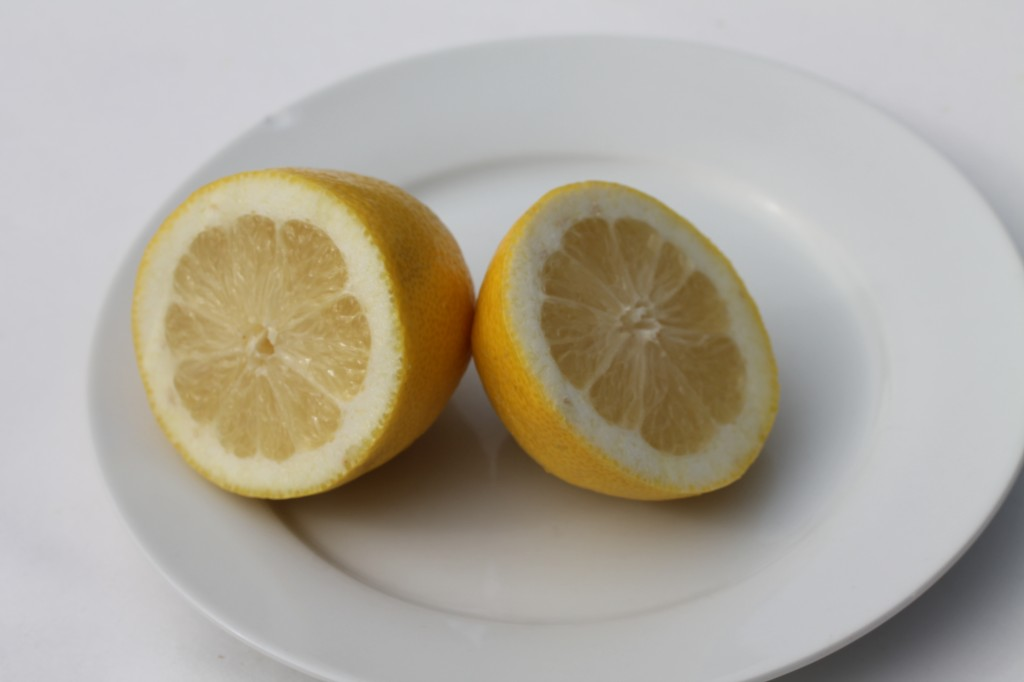 fresh lemon juice squeezed for dressing