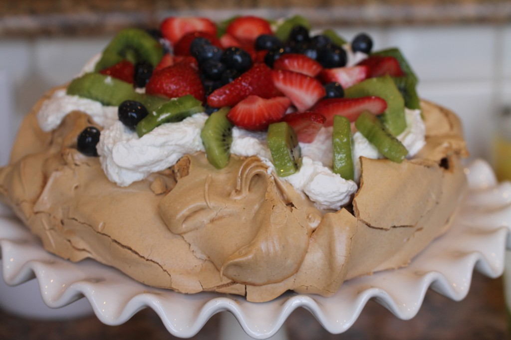 Pavlova, Carmina's Home Cooking Demonstration with Sweet Memories of Days in Australia