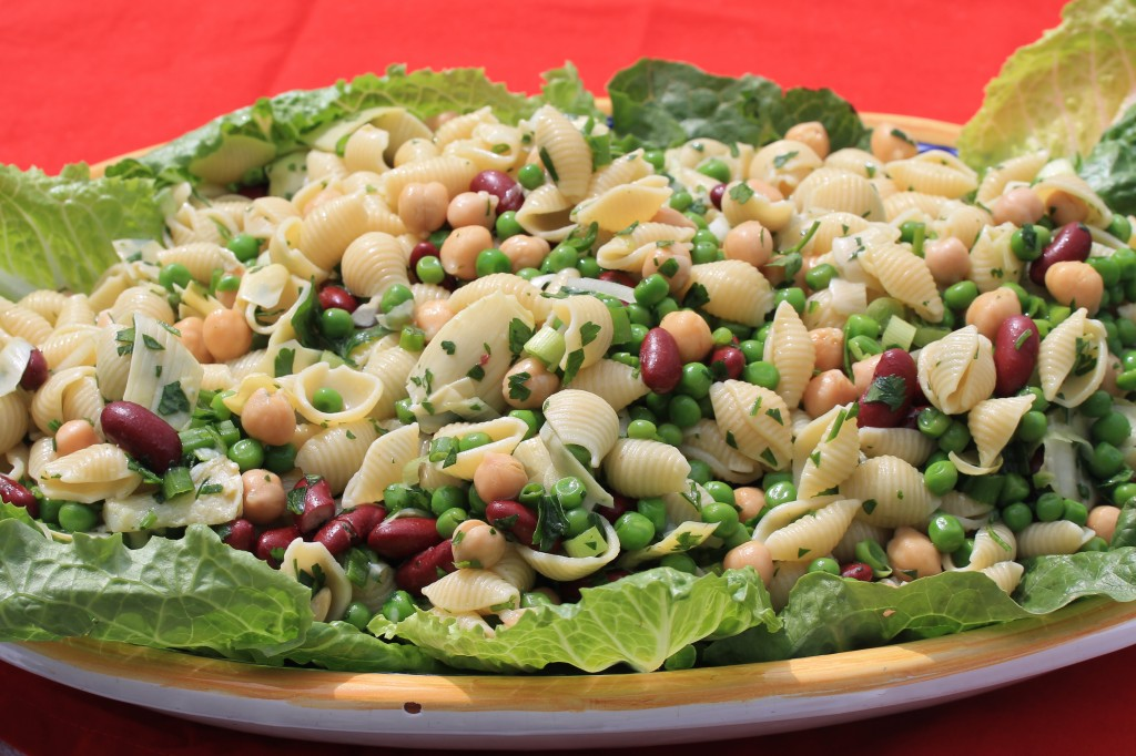 Quick, Easy, Healthy, Pasta Salad for Tailgating