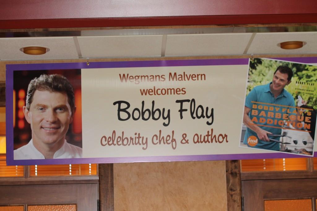"""Bobby Flay's Barbecue Addiction"" Wegmans Malvern Cookbook Signing"
