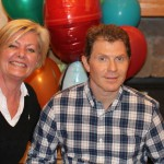 Peggy with Bobby Flay