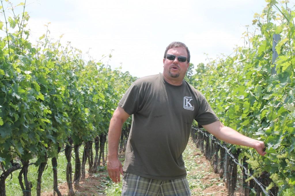 Karamoor Winemaker Kevin Robinson
