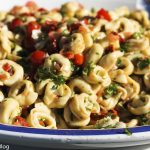 Tortellini and Tomatoes Salad