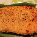 Baked Chicken Panko in less than an hour