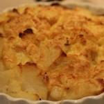 Creamy, Cheesy, Russet Potatoes