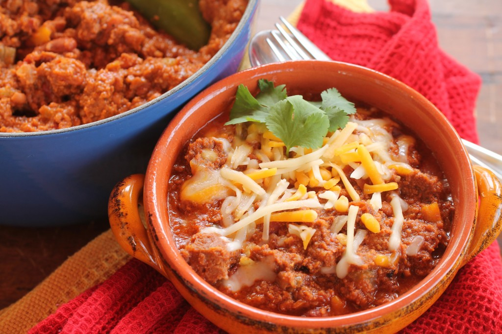 Sumatra Coffee Turkey Chili