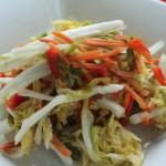 Pickled Napa Cabbage Slaw