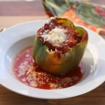 Cooking with Kids, Stuffed Green Garden Peppers