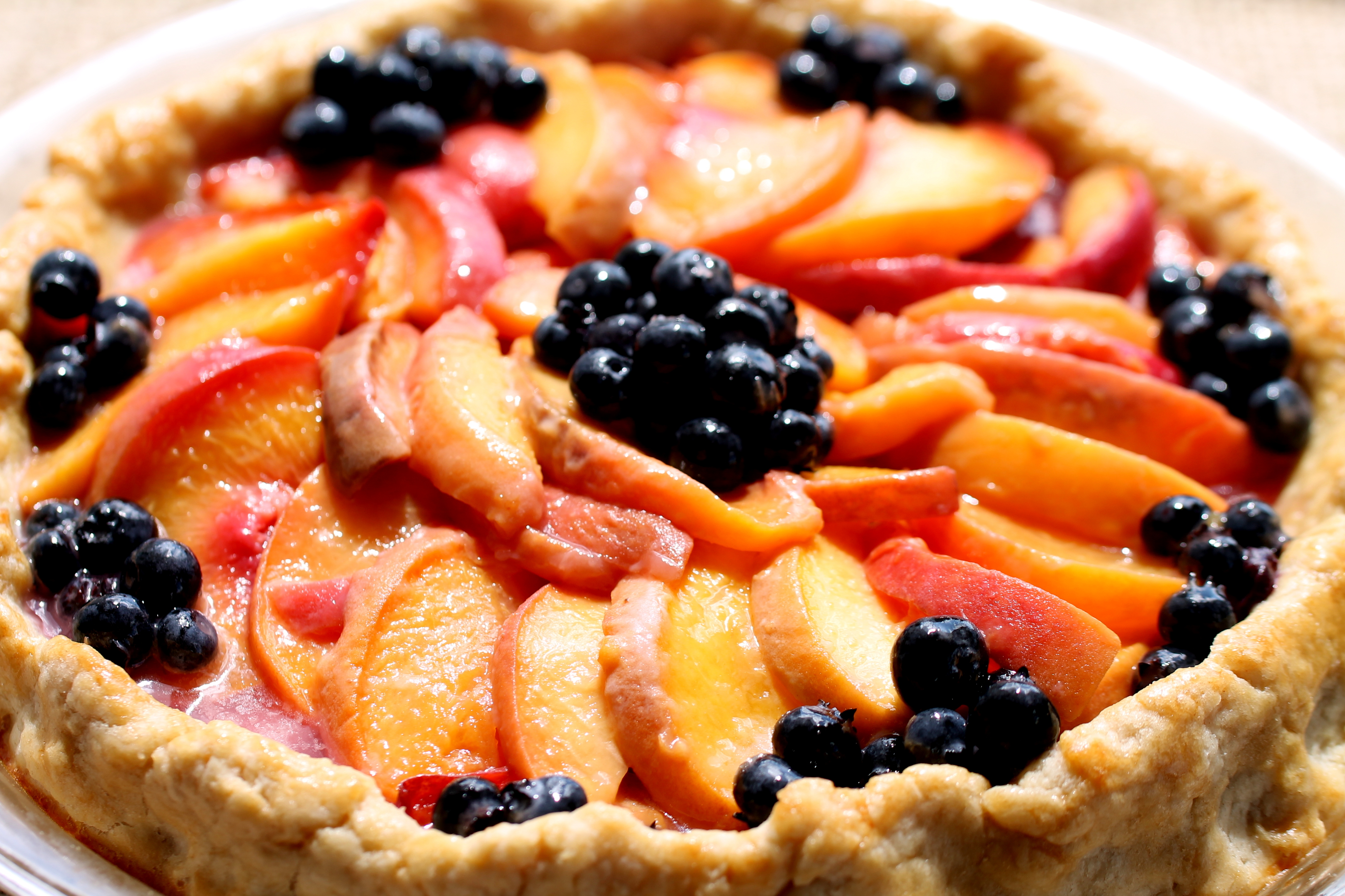 Spiced Peach Blog Celebrates 200 Posts! Peach Cake and Peach Pie on National Peach Day