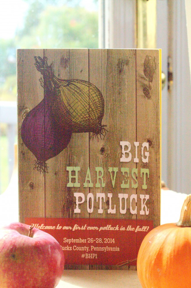 The Big Harvest Potluck, come hungry, leave full in every (meaningful) way