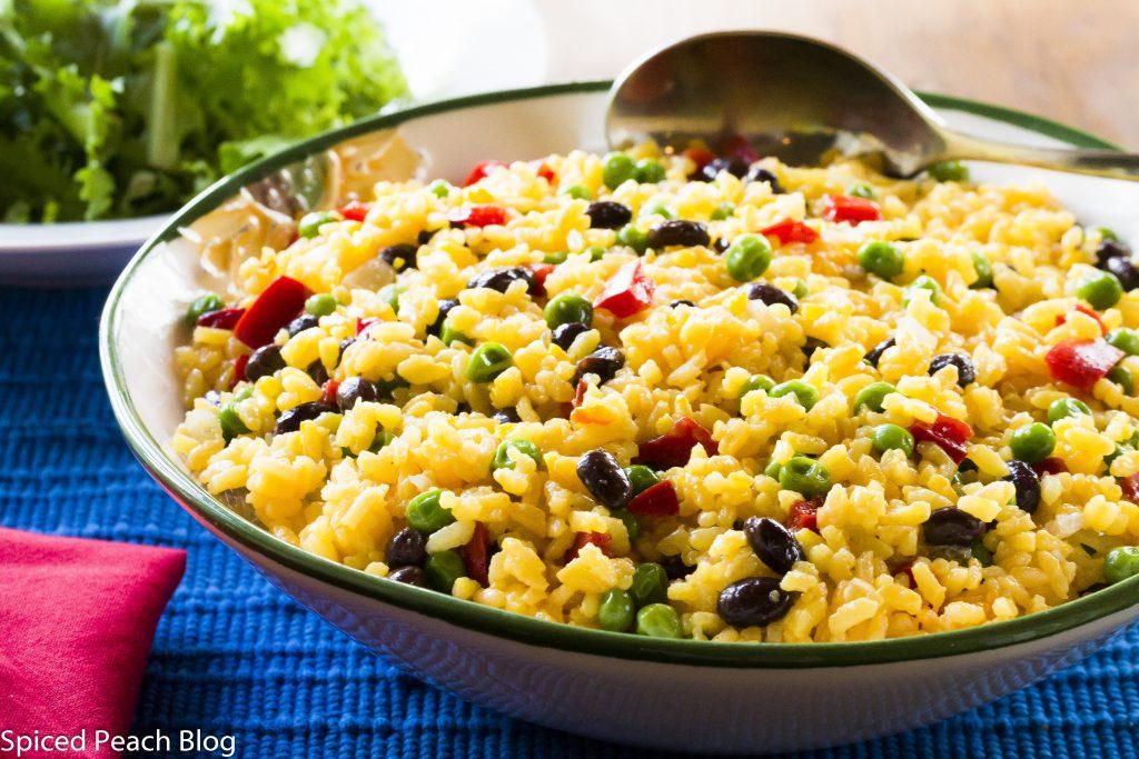 Yellow Rice Salad