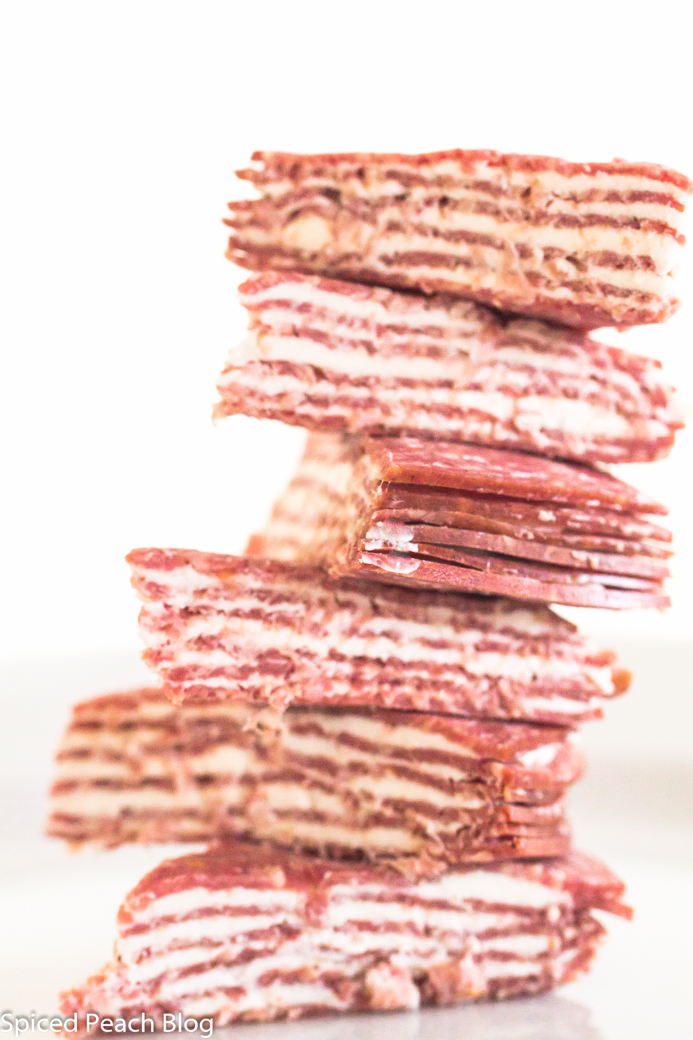Seltzer's Lebanon Bologna and Philadelphia Cream Cheese Stacks