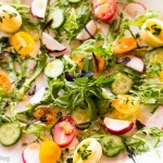 Spring Salad, Mustard Vinaigrette