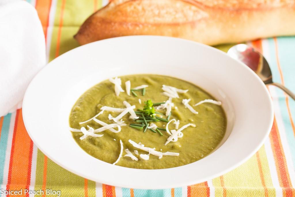 Celeriac and Spinach