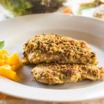 Pistachio and Parmesan Tenderloins