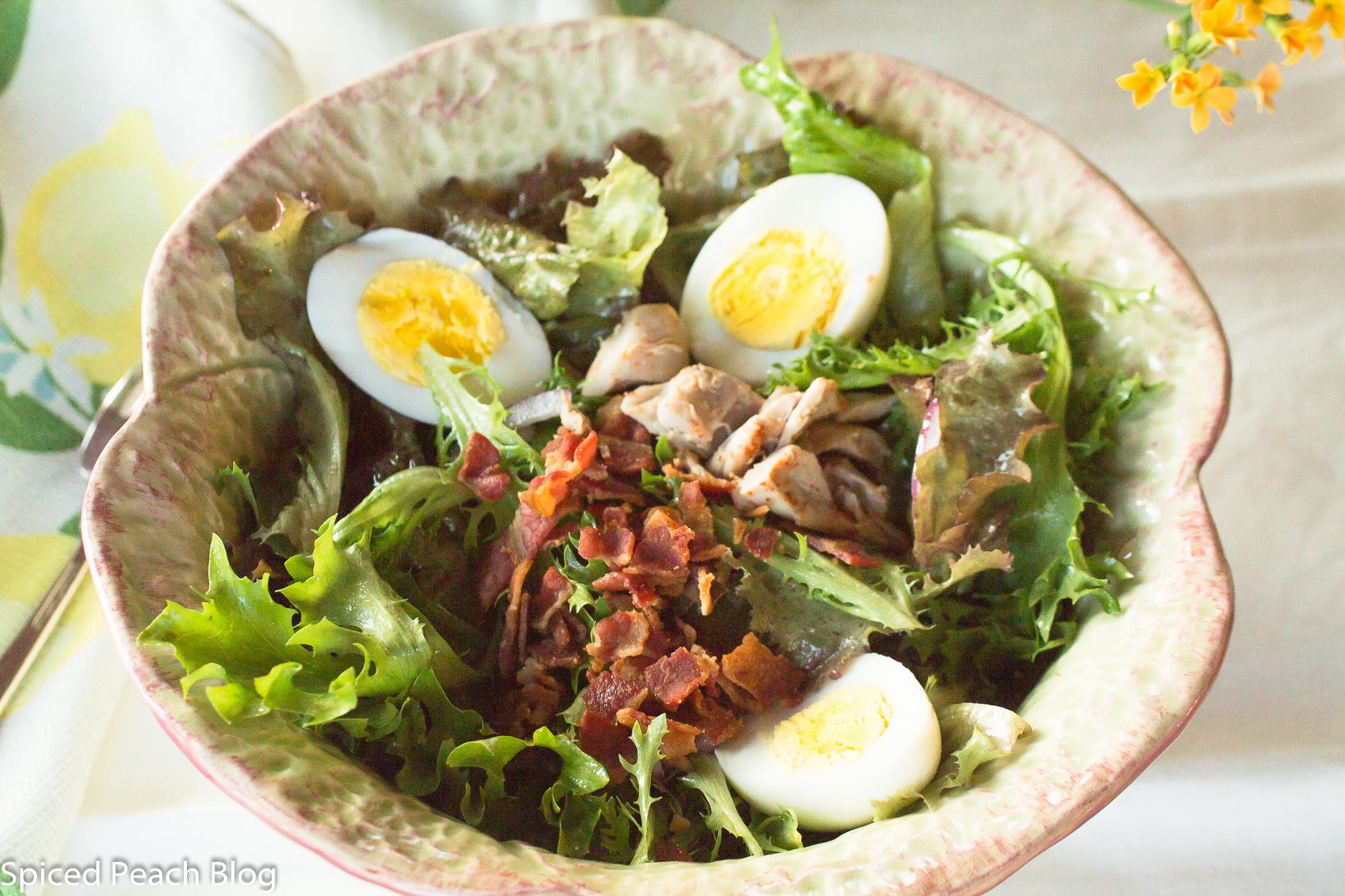 Garden Salad, Bacon Dressing