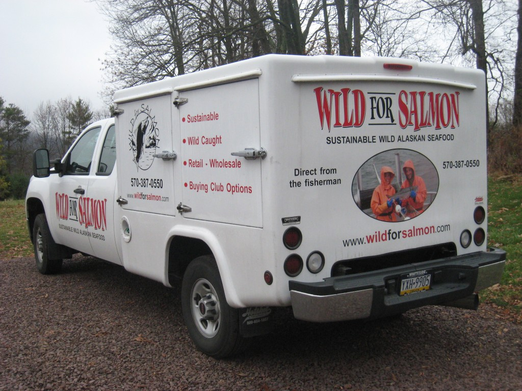 Wild for Salmon Truck