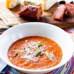 Creamy Roasted Fresh Tomato Soup