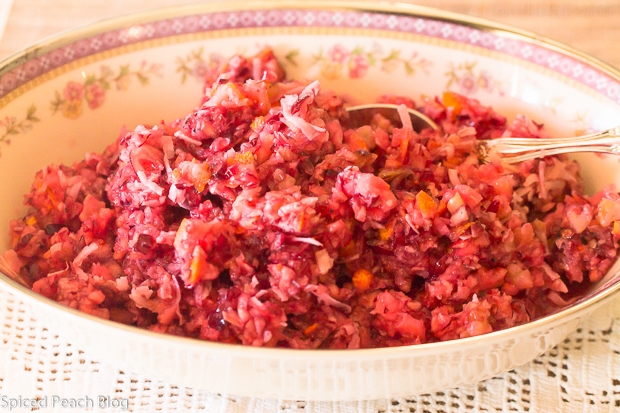 Cranberry Orange Relish with Toasted Walnuts and Coconut