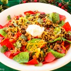 Cooking with Kids: Festive Ground Turkey and 'Black Bean Fiesta' Nachos