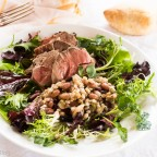 Roast Lamb, Paris Bistro Bean Salad