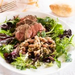 Roast Lamb, Paris Bistro Bean Salad