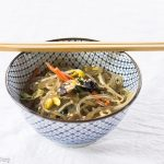 Japchae, 'Potato Starch Noodles Stir-Fried with Vegetables'