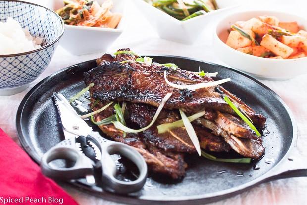 Galbi, Grilled Korean Short Ribs