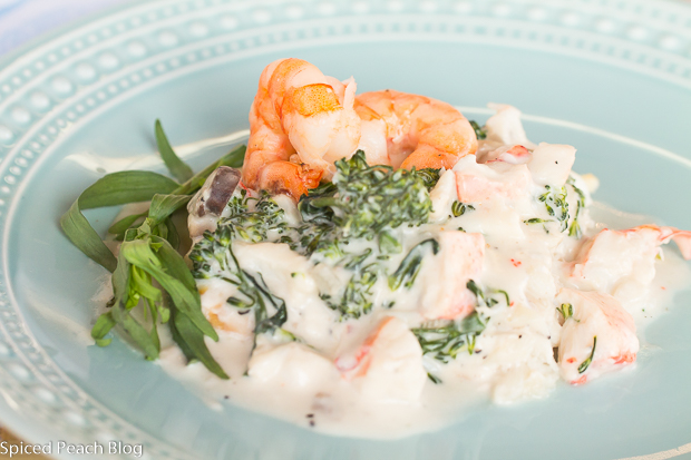 Rockfish, Lobster Thermidor Style