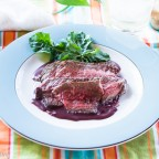 London Broil, Red Wine Sauce