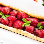 Rhubarb Strawberry Tart