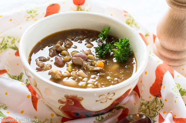Pork Juice 16 Bean Soup