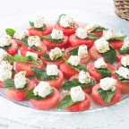 Watermelon, Mint, Marinated Feta