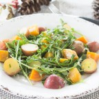 Golden Beets & Little Red Potatoes, Arugula Salad