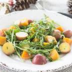 Golden Beets & Little Red Potatoes, Arugula Salad