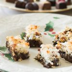 Chocolate Coconut and Pecan Bars