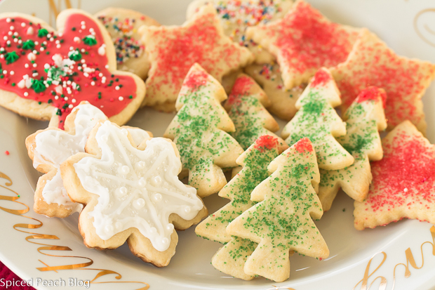 Old Fashioned Sugar Cookies with Sprinkles