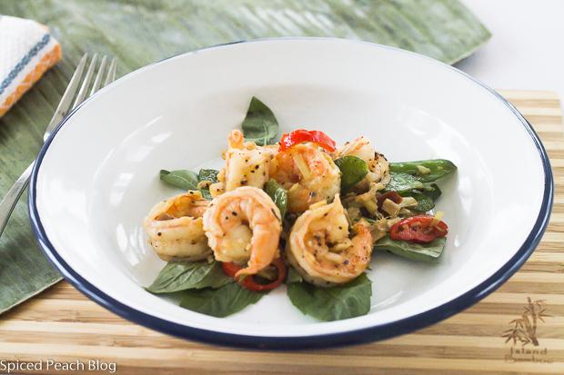 Spicy Lemongrass Shrimp