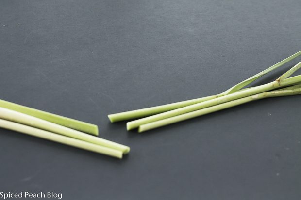 lemongrass with tops removed