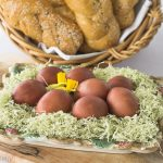 Armenian Style Dyed Easter Eggs
