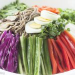 Korean Cold Buckwheat Noodle Salad